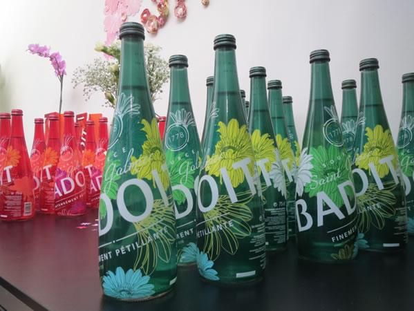 Des bouteilles à l'effigie de Lyon bientôt commercialisées par Badoit