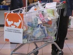 Une collecte de la Banque Alimentaire - LyonMag