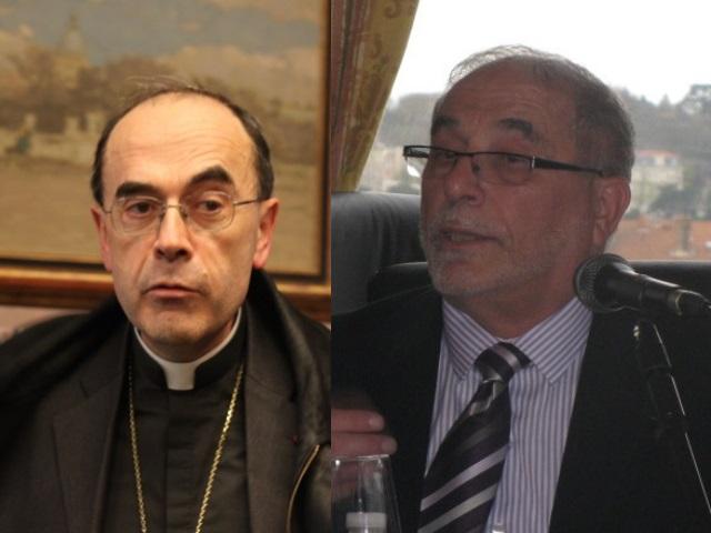 Le cardinal Barbarin et le recteur Kabtane se rendent ensemble au Liban