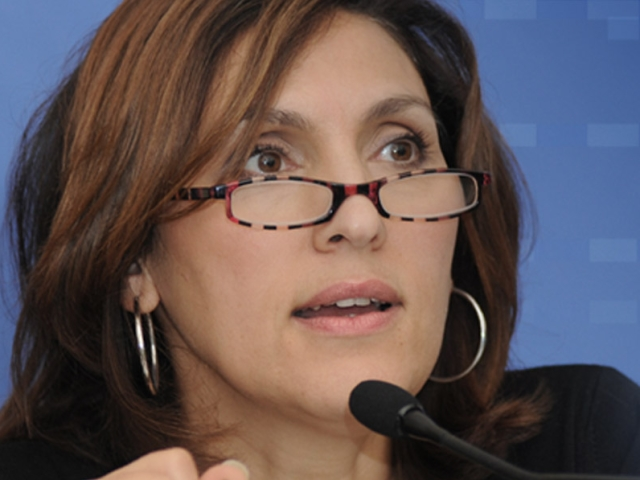 Nora Berra, vice-présidente du club des amis de Sarkozy