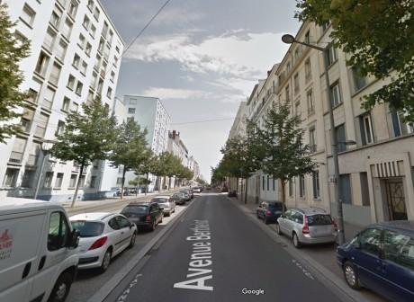 L'accident s'est produit sur l'avenue Berthelot - DR Google Street View