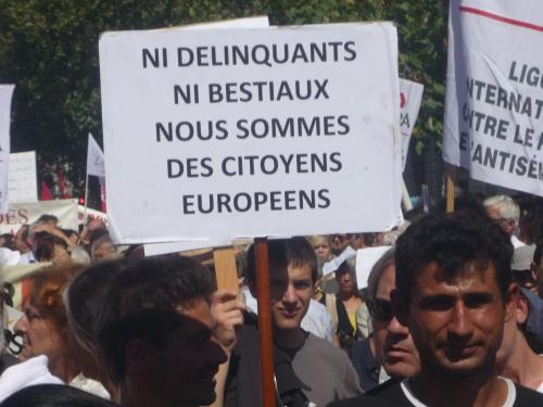 Manifestation contre la traque des Roms samedi à Lyon