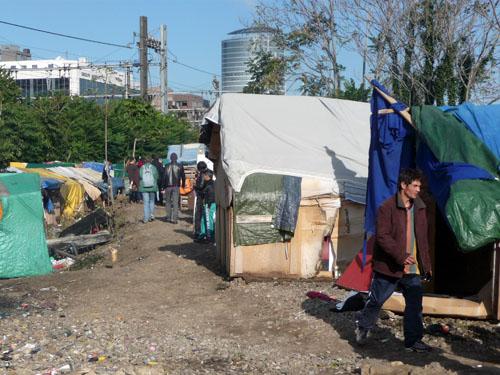 Un camp de roms démantelé à Saint-Pierre-de-Chandieu