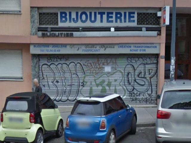 Une bijouterie victime d'un braquage à Villeurbanne