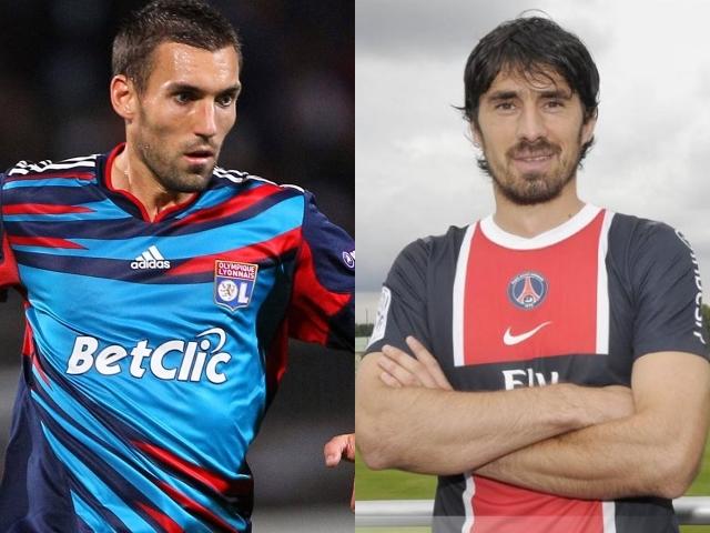 Anthony Réveillère et Milan Bisevac - Photos AFP/Icon Sport/DR