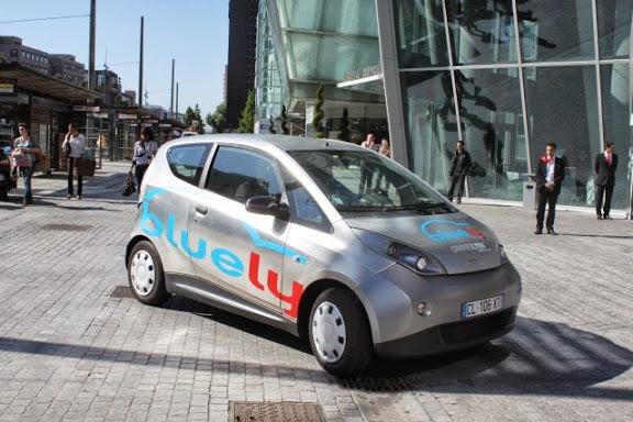 Le service d'autopartage Bluely se dévoile aux Lyonnais pour une journée test