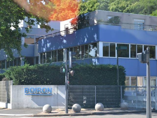 Nouvelle organisation des établissements français de Boiron