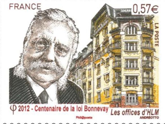 Un timbre à l'effigie de Laurent Bonnevay