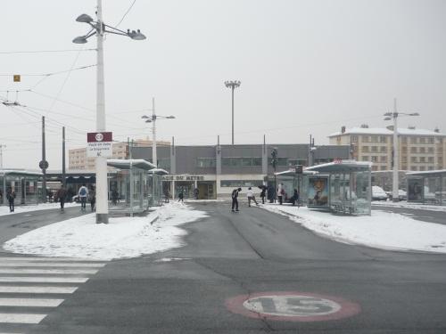 Le Rhône n'est plus en alerte orange à la neige et au verglas