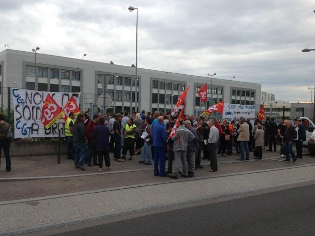 Les salariés de Bosch Vénissieux près de Lyon en grève ce mardi