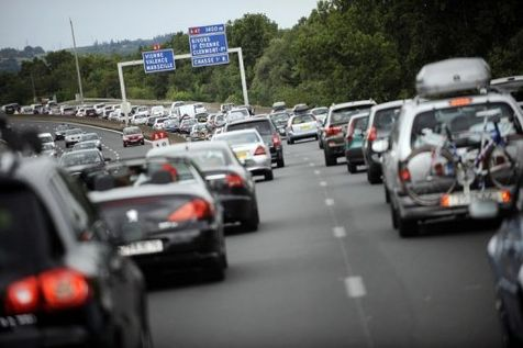 A 12h20, il fallait 4h pour relier Lyon à Orange - Photo DR