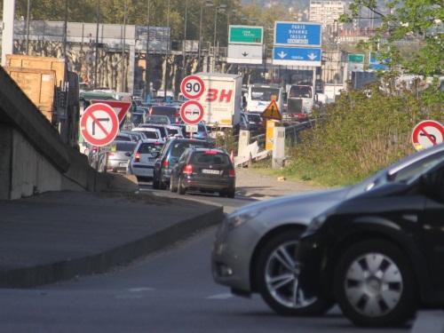 Samedi chargé sur les routes, les entrées de Lyon prises d'assaut
