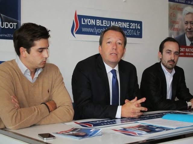 Municipales à Lyon : Christophe Boudot (FN) présentera ses têtes de liste en compagnie de Florian Philippot