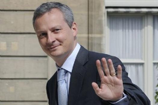 Bruno Le Maire en déplacement à Lyon le 11 décembre