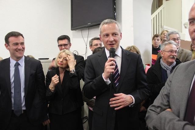 Bruno Le Maire à Lyon : visite de courtoisie ou de campagne ?