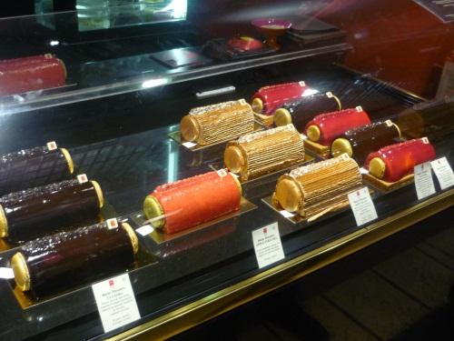 La robe en chocolat est exposée à Lyon
