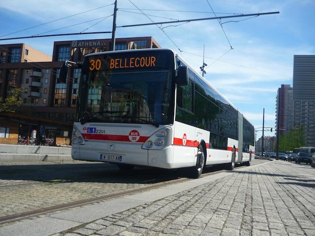 Des bus ciblés par des jets de pierre mercredi soir dans l'agglomération lyonnaise