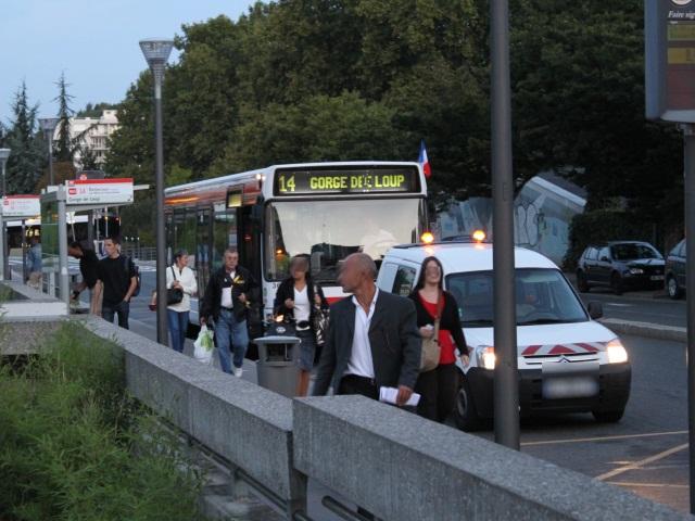 Travaux : des arrêts de bus chamboulés dans le secteur des Terreaux