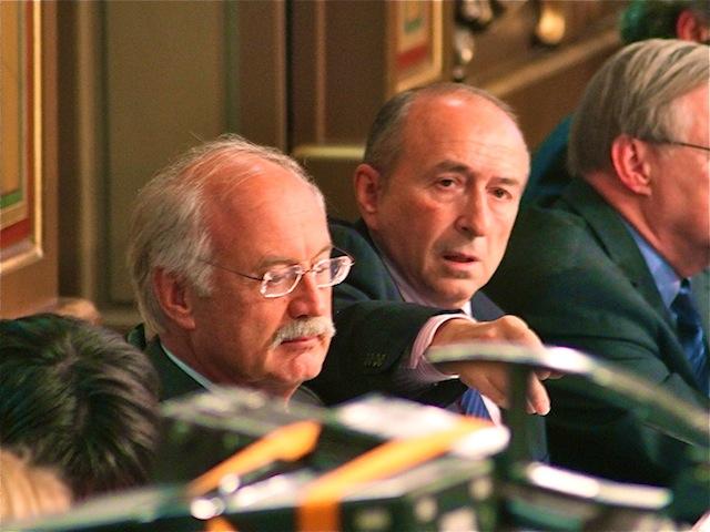 Jean-Louis Touraine et Gérard Collomb, un duo en place depuis 2001 et qui pourrait se briser à quelques mois des municipales - LyonMag