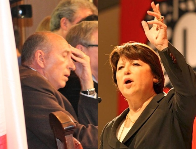 Martine Aubry profite des retraites pour allumer Gérard Collomb