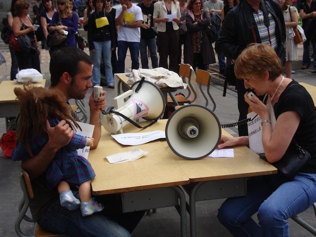 Fin de l'universtité d'été des enseignants en résistance