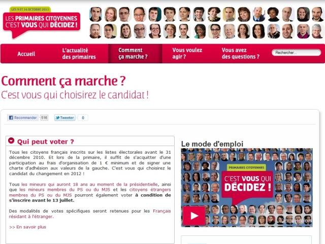 Primaires du PS : 197 bureaux de vote dans le Rhône