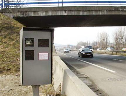 carte radar fixe autoroute a7