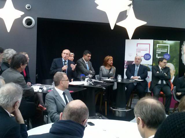 Municipales à Lyon : Gérard Collomb dévoile ses têtes de liste