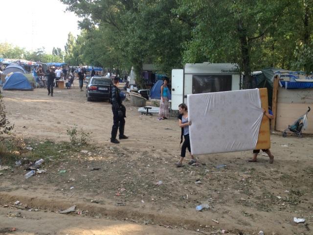 Camp de Roms à Saint-Fons : une centaine de personnes expulsée ce vendredi