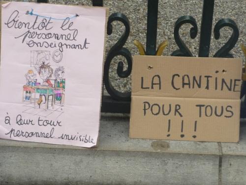 Les cantines scolaires de Lyon encore en grève à la rentrée