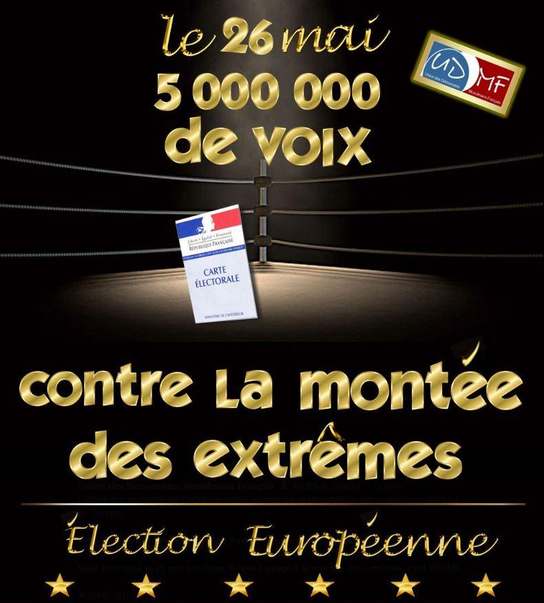 Vaulx-en-Velin : l'UDMF présentera sa liste aux Européennes ce samedi
