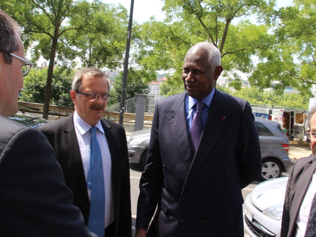 Francophonie : Abdou Diouf était à Lyon jeudi