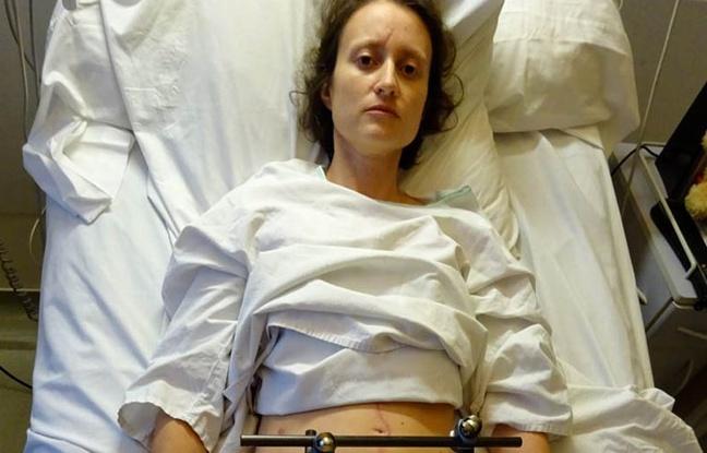 Amputée des deux jambes, Caroline lance un appel aux dons