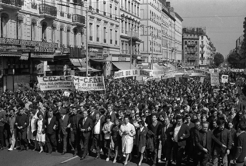 Mai 68, Lyon s'enflamme
