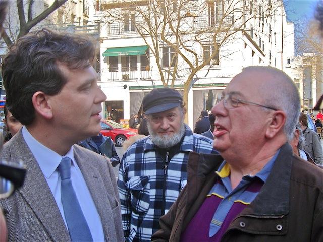 Quand Montebourg rencontre l'ancien candidat UMP du canton-Centre de Villeurbanne !