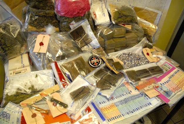 Un vaste trafic de stupéfiants démantelé à Lyon