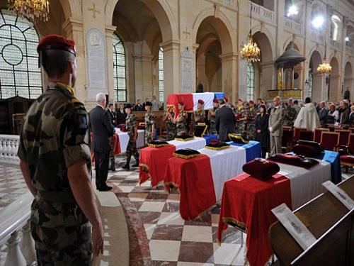 L'hommage national aux soldats français et lyonnais sera rendu jeudi matin