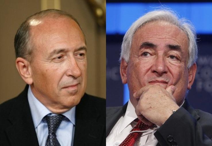 Gérard Collomb attendra Dominique Strauss-Kahn