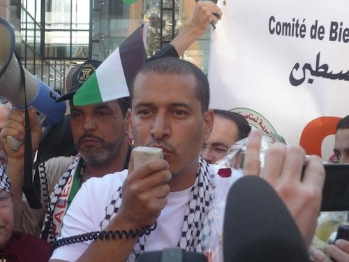 Salah, l'humanitaire lyonnais, est de retour