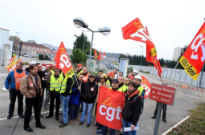 Rassemblement interprofessionnel ce jeudi devant l'usine Arkema de St Fons à l'appel de la CGT