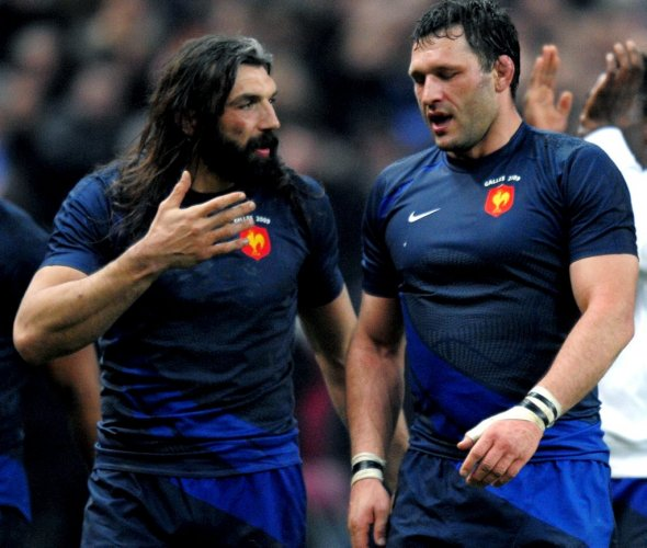 """LOU Rugby : Chabal et Nallet, """"des copains qui jouent ensemble et qui fédèrent un groupe"""""""