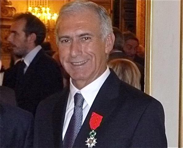 Henry Chabert a reçu la Légion d'honneur