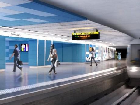 Voilà à quoi ressemblera la station Charpennes, une fois rénovée - DR