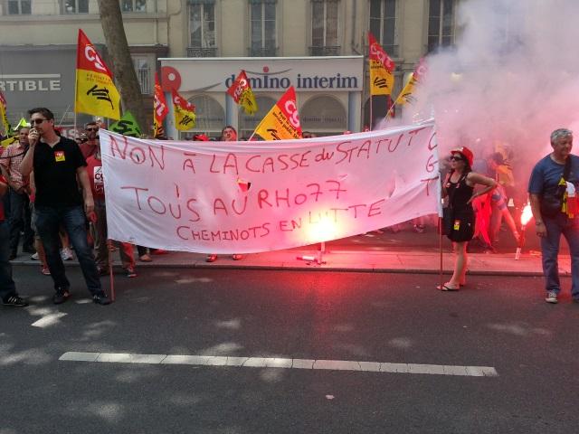 Lyon : la grève SNCF reconduite jeudi par les assemblées générales