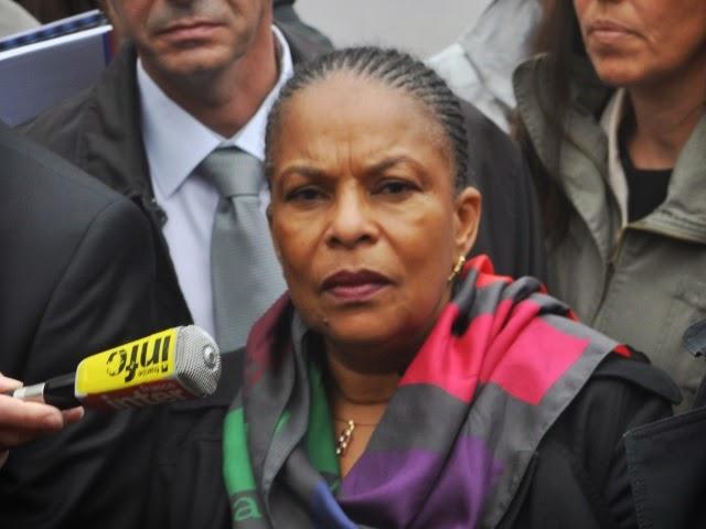 Christiane Taubira à Lyon lundi