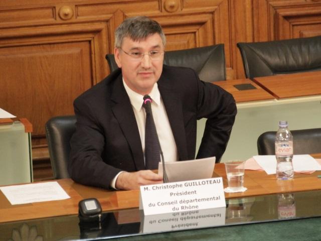 Rhône : Christophe Guilloteau élu membre du bureau de l'association des Départements de France