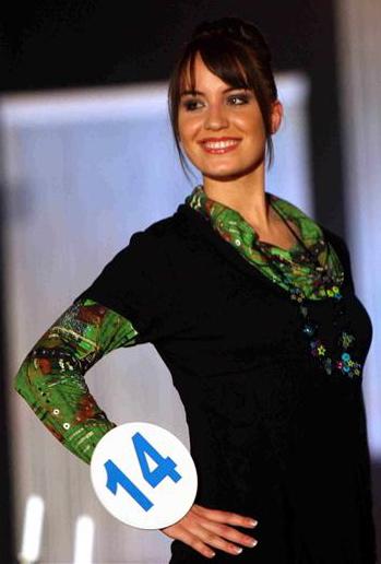 Cindy Saroul, nouvelle miss Rhône-Alpes
