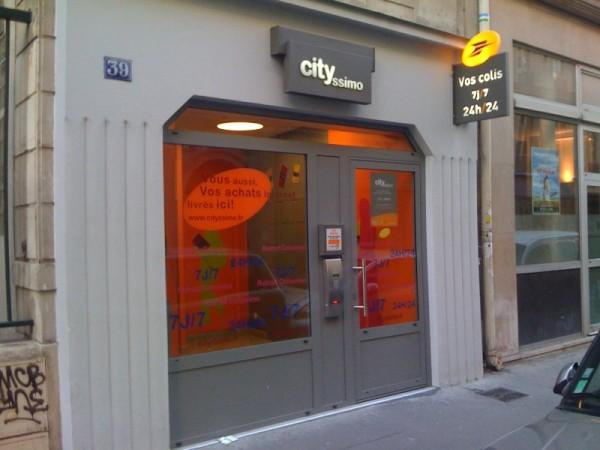 Un deuxième distributeur de colis à Lyon