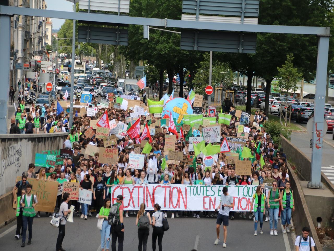Marche mondiale pour le climat - LyonMag