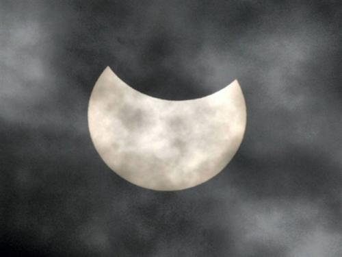 L'ARS met en garde contre l'éclipse solaire partielle de vendredi